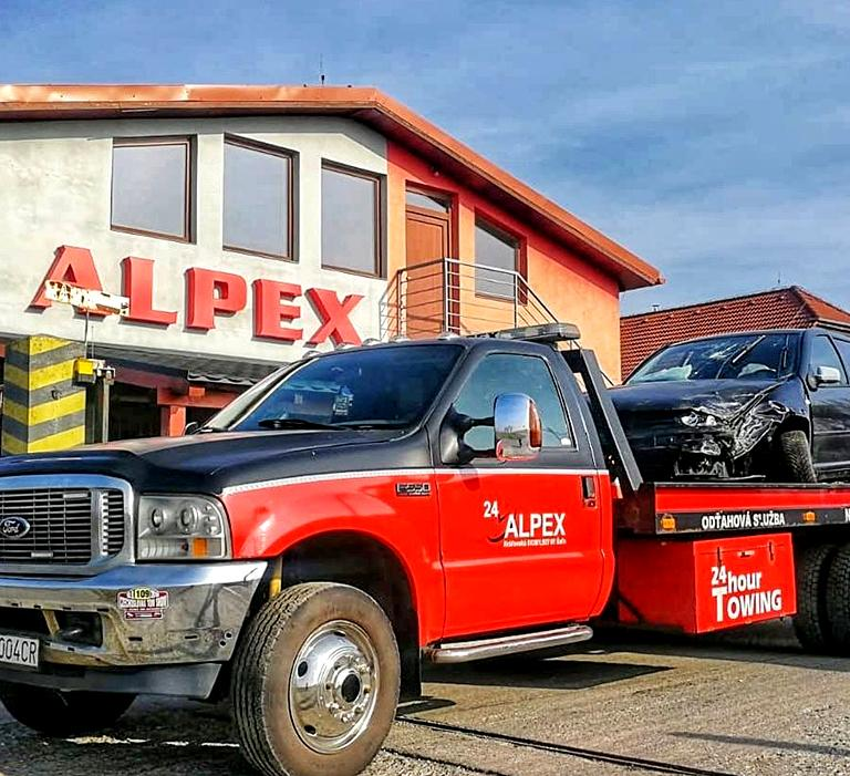 Odťahové vozidlo ALPEX